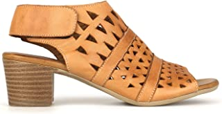 Airflex Delicious Womens Leather Casual Tan 5