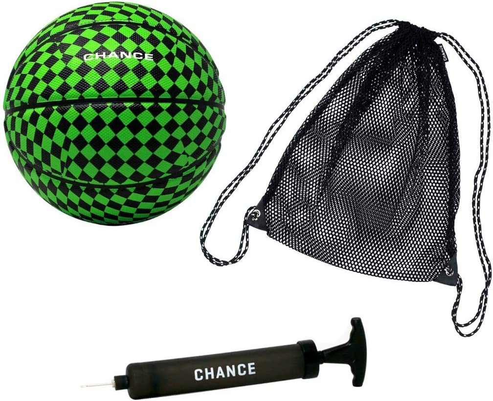 Chance Premium Rubber Outdoor Indoor + Ball Outlet discount sale feature Basketball Pu