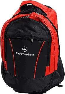 Mercedes Benz Logo Backpack Bag Unisex Leisure School Leisure Shoulder