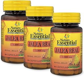 Nature Essential Jalea real 1000 mg - 60 cápsulas (Pack 3 Unididades)