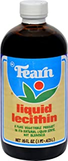 Fearn Natural Foods Liquid Lecithin, 16 Ounce