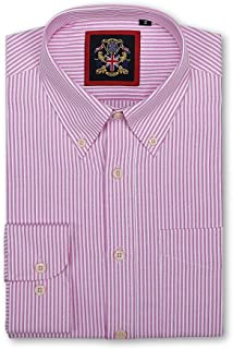 The New Windsor Oxford Button Down Casual Long Sleeve Shirt, Small-XXXL