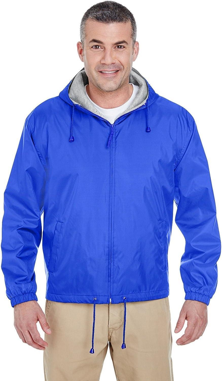 UltraClub Fleece-Lined Hooded Jacket (8915)