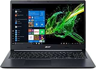 "Acer Aspire 5 A515-52G-72DT Notebook Laptop, Intel Core i7-8565U, 15.6"" FHD, 128GB SSD + 1TB HDD, 12GB RAM, 2GB NVIDIA® GeForce® MX130, Win10, Eng-Ara KB, Black"
