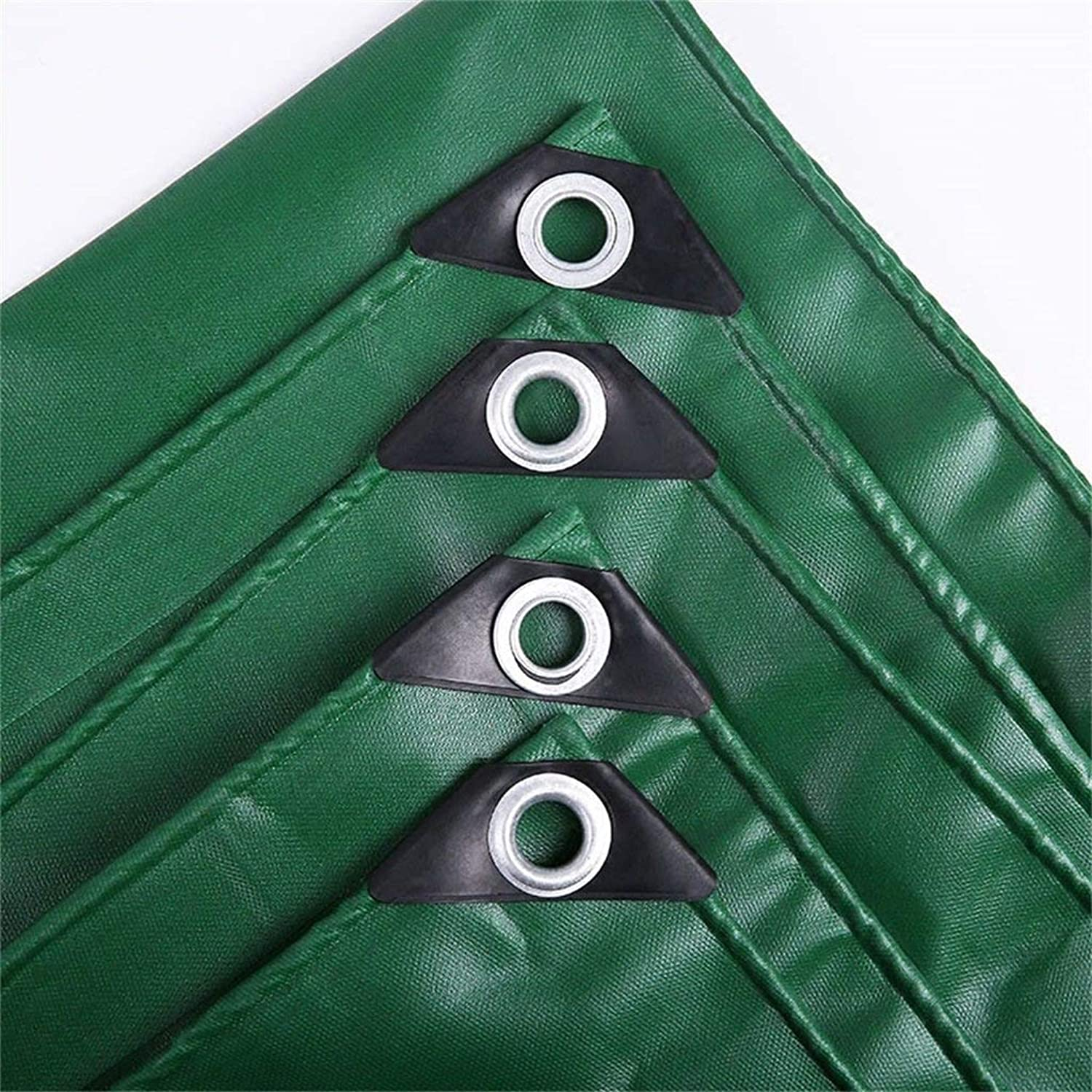 Tarp Durable Quality Tarpaulin Ground Sheet Waterproof Cover 550g m2 Car Boat Roof Rain Cover Camping Trailer Tent Green Pool