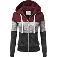 Doublju Lightweight Thin Zip-Up Hoodie Women's Jacket (various colors and sizes)