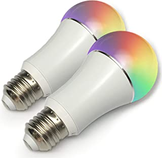 Color LED Light Bulb, Wi-Fi Dimmable Smart Bulb, Works...