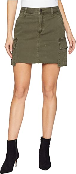 Army Skirt in Forest Floor