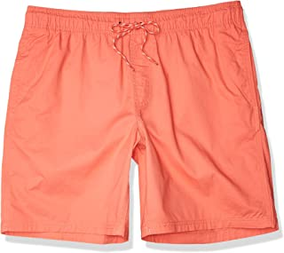 "Amazon Essentials Men's 9"" Inseam Drawstring Walk Short, Coral, Large"