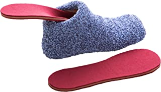 Heated Bed Socks for Women- Cold Feet Solution! Cozy Microwaveable Slippers | USA Patented Lavatech Technology! Get a Warm Night in 30 Seconds!