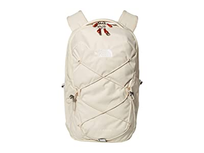 The North Face Jester Backpack (Bleached Sand/Burnt Ochre) Backpack Bags