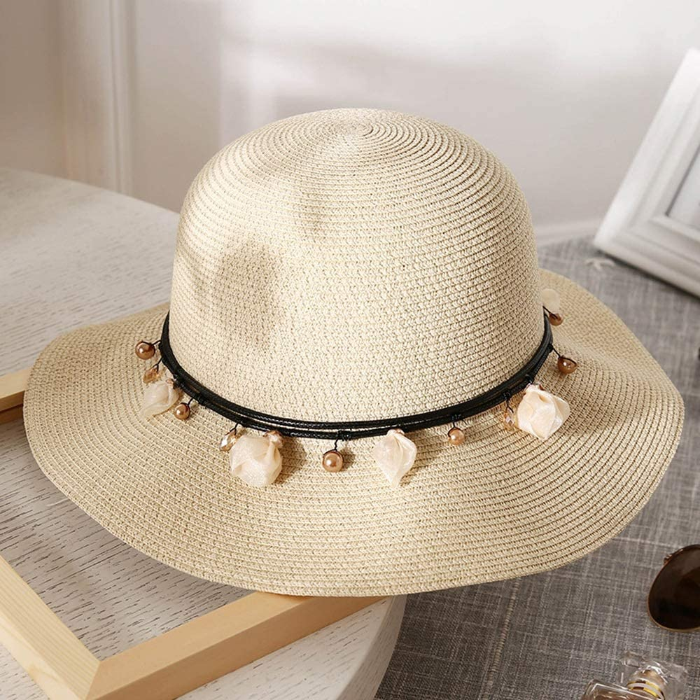YD Hat - Women's Straw Summer Small Fresh Ou Purchase Folding San Antonio Mall Sun