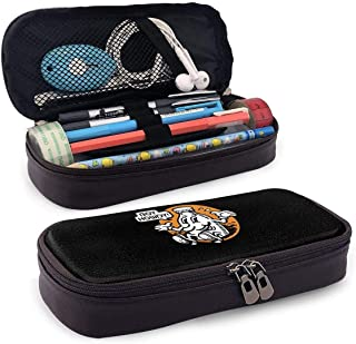 Leather Pencil Case For School Students Office Boy Howdy! CREEM Mag Pen Pencils Box