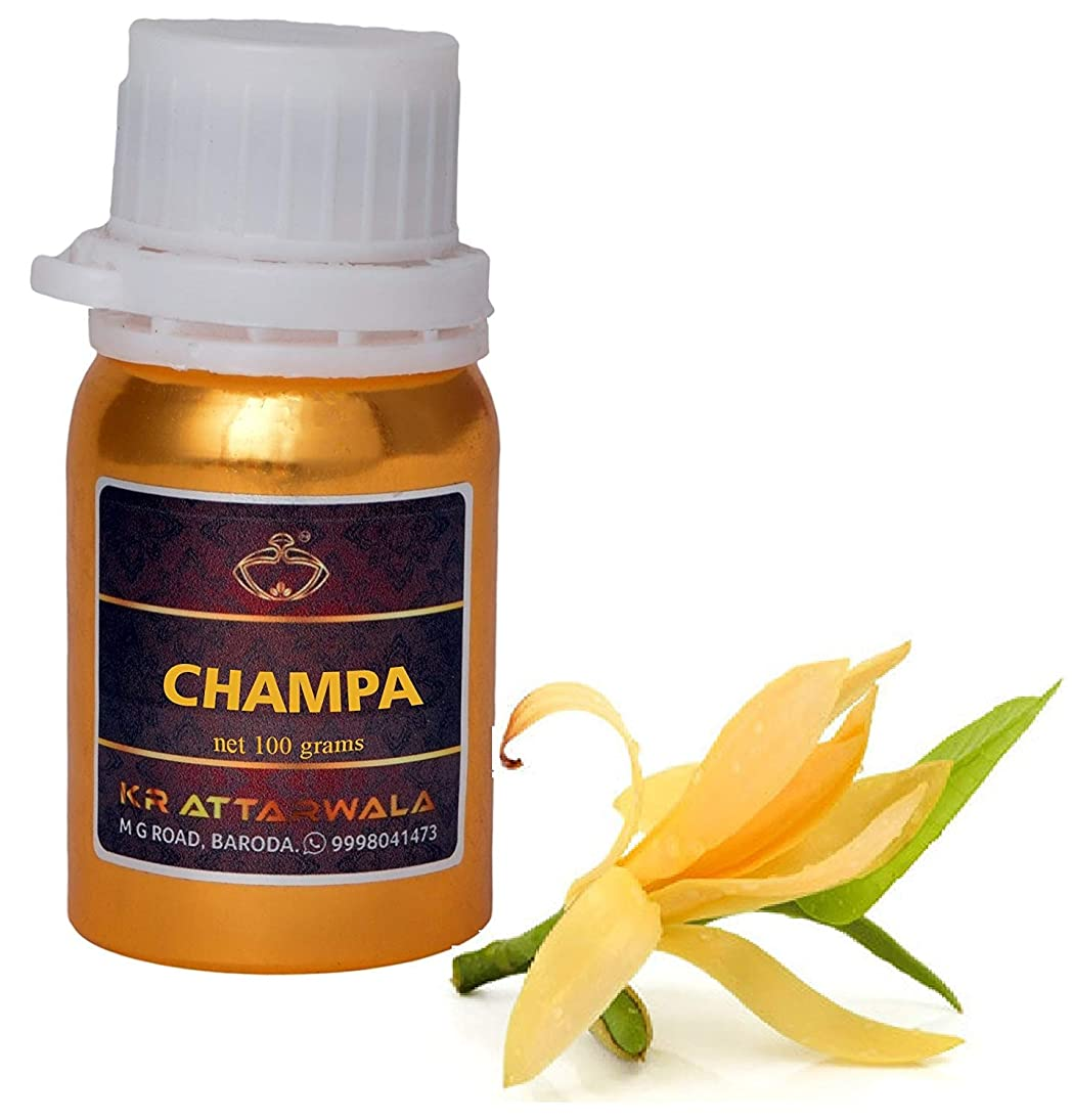 クリップ蝶駐地お茶チャンパフラワーフレグランス香水Ittarアターオイル - スウィート強いチャンパアロマ100ミリリットル|長いアターを持続アターITRA最高品質の香水スプレー
