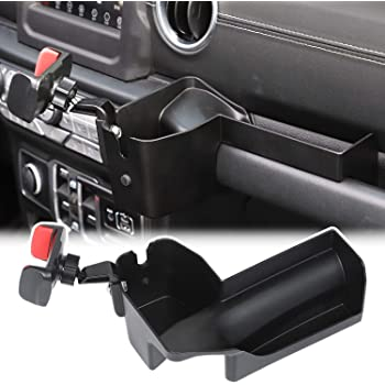 Multifunction Water Cup Phone Holder Mount for Jeep Wrangler JL 2018 2019 2020