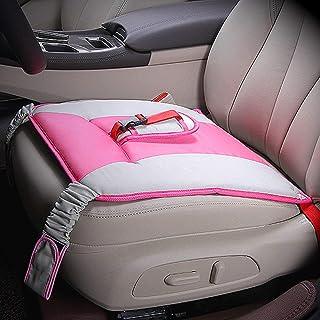 Angelkiss Schwangerschaft Gurt, Bauch Schild, Mutterschaft Sicherheit Schwangerschaftsgurt Auto rutschfest Sitzauflage für Schwangere (rosarot)
