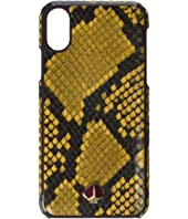 Kate Spade New York - Snake Embossed Phone Case for iPhone XS