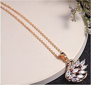 Collocation-Online Wild New Zircon Necklace-Swan Beauty Explosive Boutique Necklace Mixed Batch
