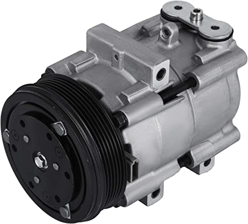 popular Mophorn CO 101510C (4L3Z19703AB) 4718120 Universal Air Conditioner online AC Compressor 58151 57151 compatible lowest with 97-06 F-150 / Heritage A/C Compressor outlet sale