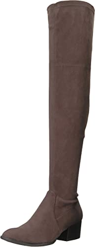 Kenneth Cole New New York Wohommes Adelynn Over The Knee démarrage Faible Heel Stretch Engineer, Asphault, 5.5 M US  grand choix et livraison rapide