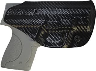IWB KYDEX Holster: fits S&W M&P Shield 9/40