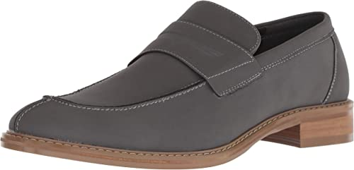 Unlisted by Kenneth Cole Men& 39;s Kinley Slip on Penny Loafer