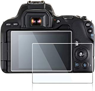 Screen Protector Compatible Canon Eos Rebel SL2 SL3 200D 200D II Kiss X9 DSLR Camera,debous Anti-Finger Optical Tempered Glass 0.3mm 9H Hard Protective Cover(2 Pack)