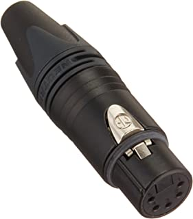 Neutrik NC5FXX-B 5-pin XLR female cable mount connector