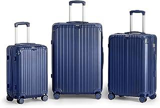Kenza Gravel Hardside Expandable Luggage with Spinner Wheels