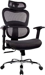 Office Chair, Ergonomics Mesh Chair Computer Chair Desk Chair High Back Chair..