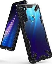 """Ringke Fusion-X Diseñado para Funda Xiaomi Redmi Note 8, Transparente al Dorso Carcasa Redmi Note 8 (6.3"""") Protección Resistente Impactos TPU + PC Funda para Redmi Note 8 (2019) - Black"""