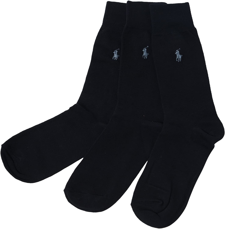 Polo Ralph Lauren 3-Pack Dress Socks