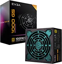 EVGA SuperNOVA 1000 G5, 80 Plus Gold 1000W, Fully Modular, ECO Mode with Fdb Fan, 10 Year Warranty, Compact 150mm Size, Po...