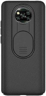 For Xiaomi Poco X3 NFC Nillkinスライドカバー用カメラレンズ保護スリムバックケース、スライドカメラカバー付きCamShield Proシリーズケース、スリムでスタイリッシュな保護ケース
