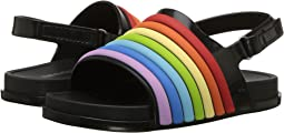 Mini Melissa Mini Beach Slide Sandal Rainbow (Toddler/Little Kid)