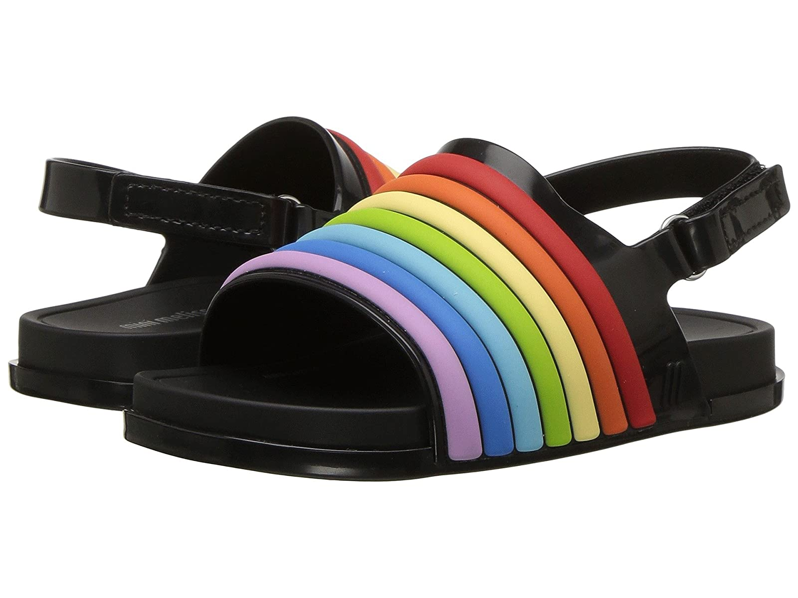 Mini Melissa Mini Beach Slide Sandal Rainbow (Toddler/Little Kid)Atmospheric grades have affordable shoes