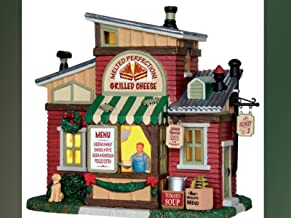 Lemax Melted Perfection Grilled Cheese Village Building Multicolored Porcelain 1 pk