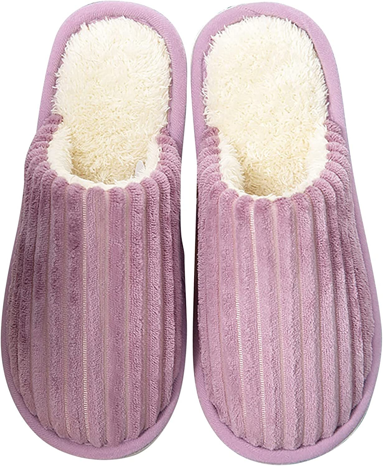 Hunauoo Slippers for Women Pure Warm Cotton El Paso Mall Color House Quality inspection