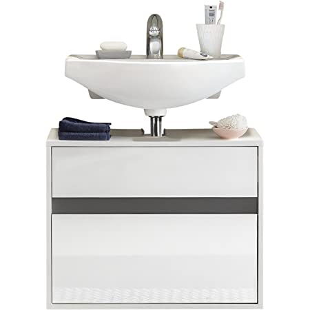 Furnline Bathroom Vanity Cabinet With Storage Space Sol Multi Color 67 X 52 X 36 Cm Amazon Co Uk Home Kitchen