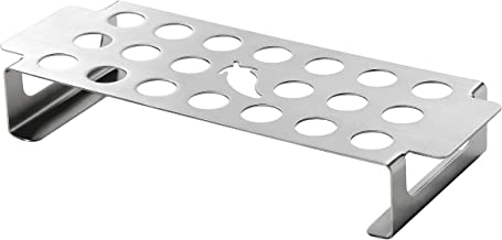 Jalapeno Rack/Stainless Steel Jalapeno Pepper Roasting Rack - Great for BBQ Grilling Vegetables, Mushrooms, Peppers - 12.8 x 4.92 x 2 Inches