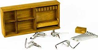 Box of Nails - 5 Nail Puzzles - Metal Interlocking Puzzle / Brain Teasing Challenges by Professor Puzzle