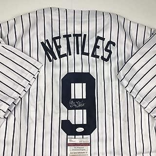graig nettles autographed baseball