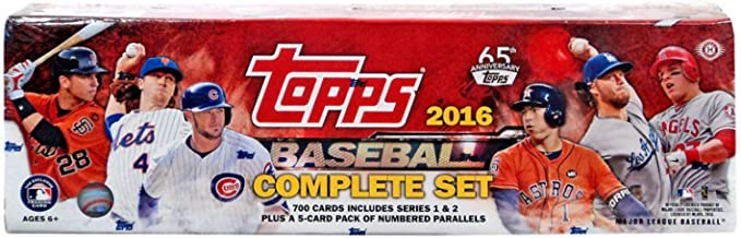 2016 topps series 1 complete set