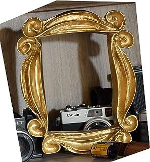 LaRetrotienda - marco decoracion mirilla puerta edición DORADA.
