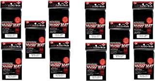 KMC Hyper Matte Sleeves Black ×10 Sets (10 Packs/total 800 Sheets) ( Japan Import )