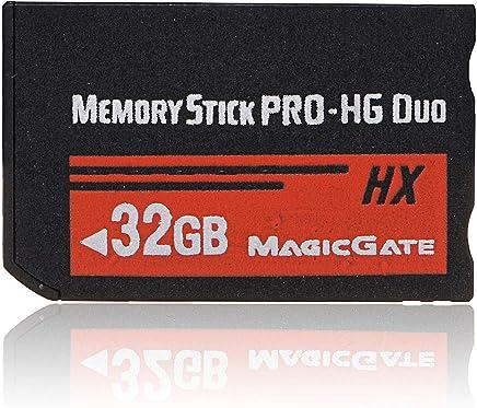 CUHAWUDBA 32GBメモリースティックMS Pro Duo HXフラッシュカード PSP Cybershoカメラに適合します