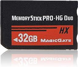 Nrpfell 32GB Tarjeta de Memoria Ms Pro Duo HX Tarjeta Flash