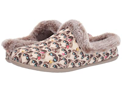 BOBS from SKECHERS Beach Bonfire Cold Cranky (Taupe/Multi) Women