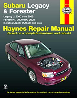 Subaru Legacy (00-09) & Forester (00-08) Technical Repair Manual (Haynes Repair Manual)