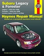 Subaru Legacy 2000 thru 2009 & Forester 2000 thru 2008 Haynes Repair Manual: Legacy 2000 thru 2009 – Forester 2000 thru 2008 – Includes Legacy Outback and Baja PDF